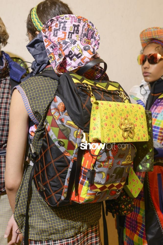 Prada Rucksack from Milan Spring Summer 2017 Fashion