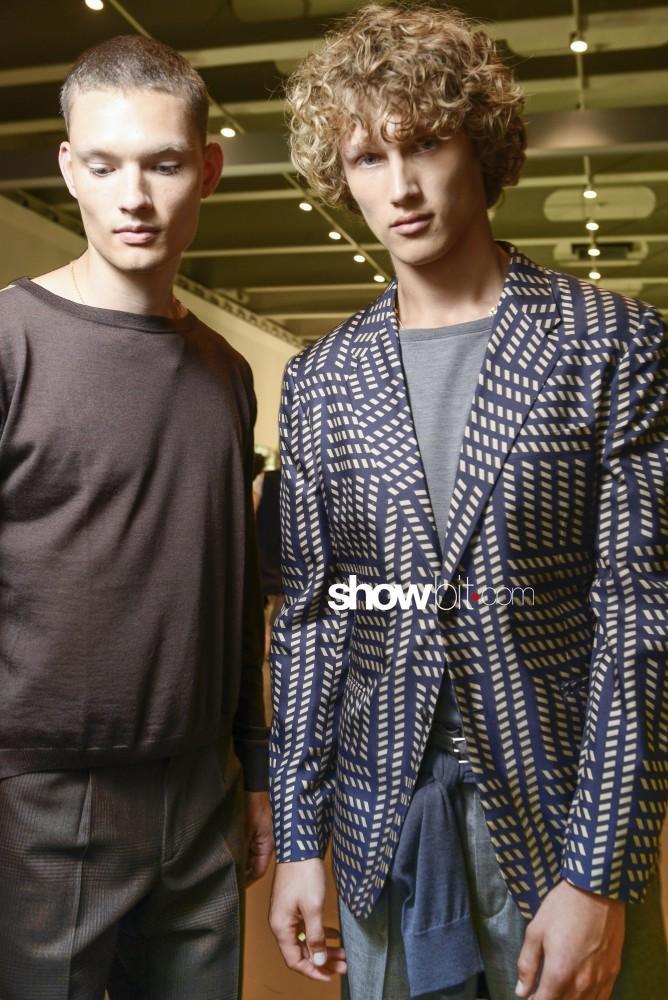 Versace Backstage Models MFW16