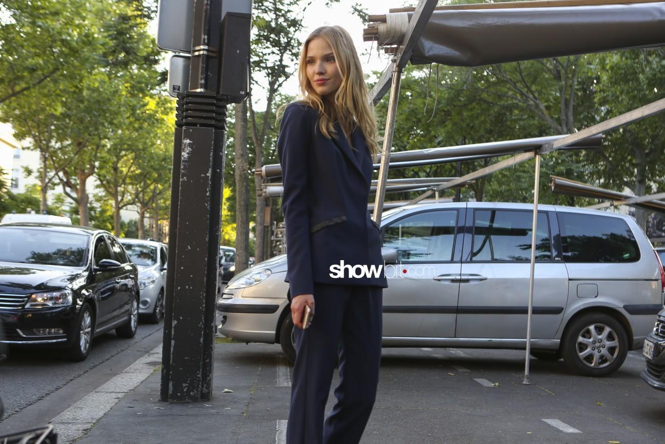 Sasha Luss for Alexandre Vauthier People Paris Haute Couture 2016 FW 16 - 17