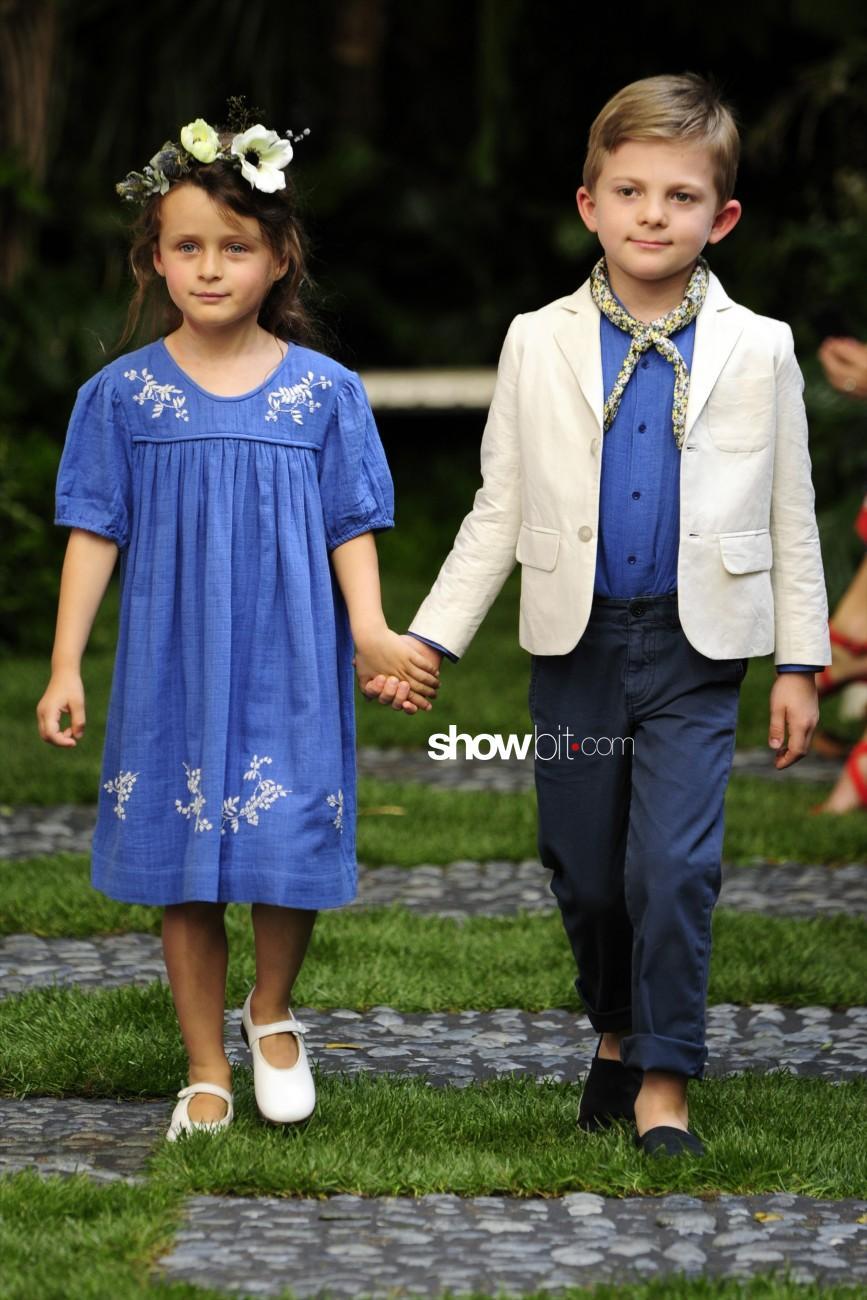 Bonpoint kids fashion Haute Couture Paris  2016 - 2017