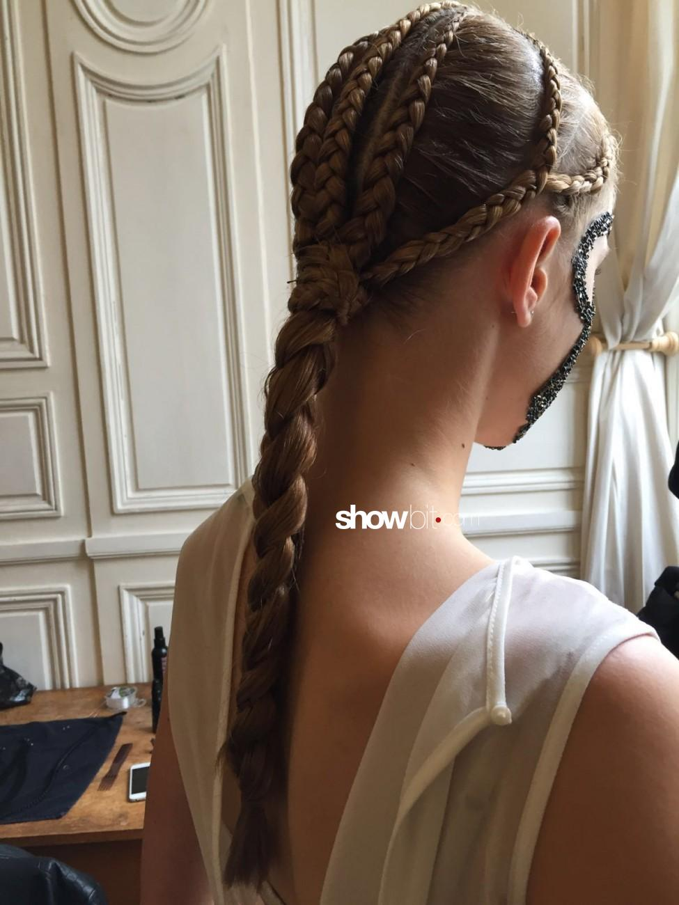 Ludovic Winterstan Haute Couture Preview Fall Winter 2016 - 2017 Braids