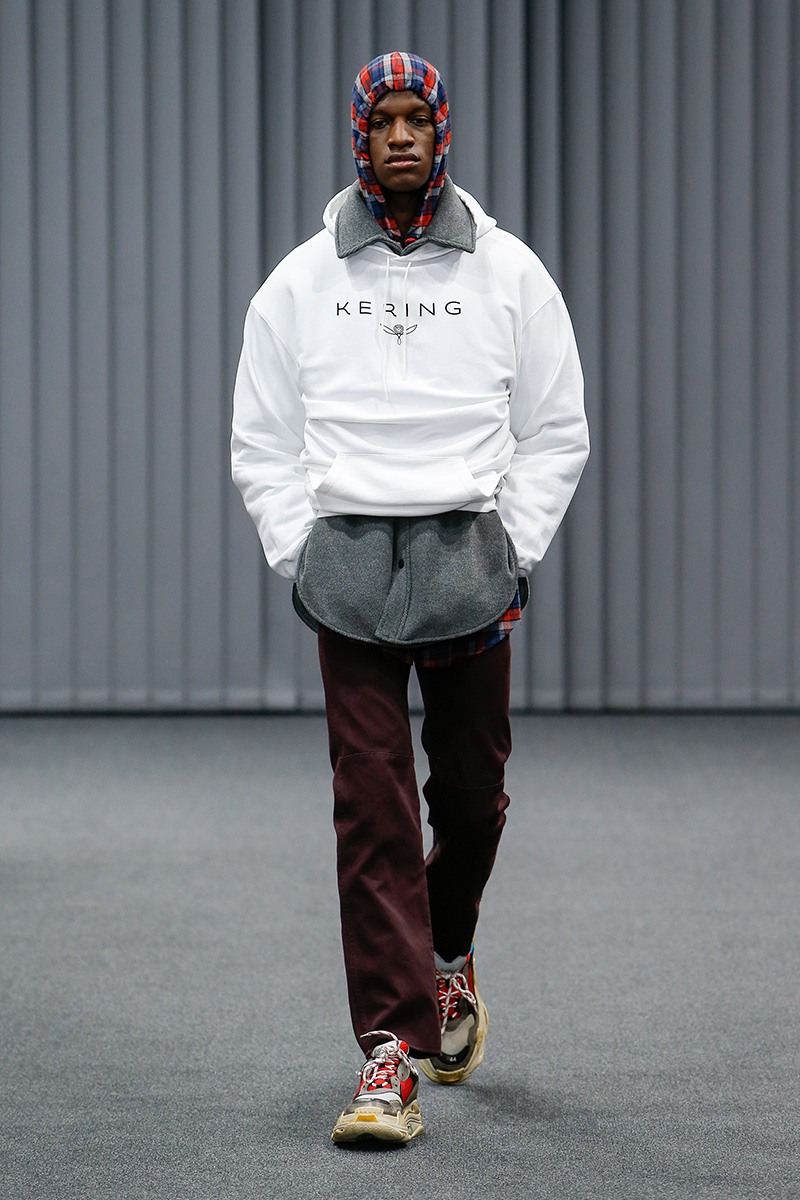Balenciaga Mens Paris Fashion Week Show
