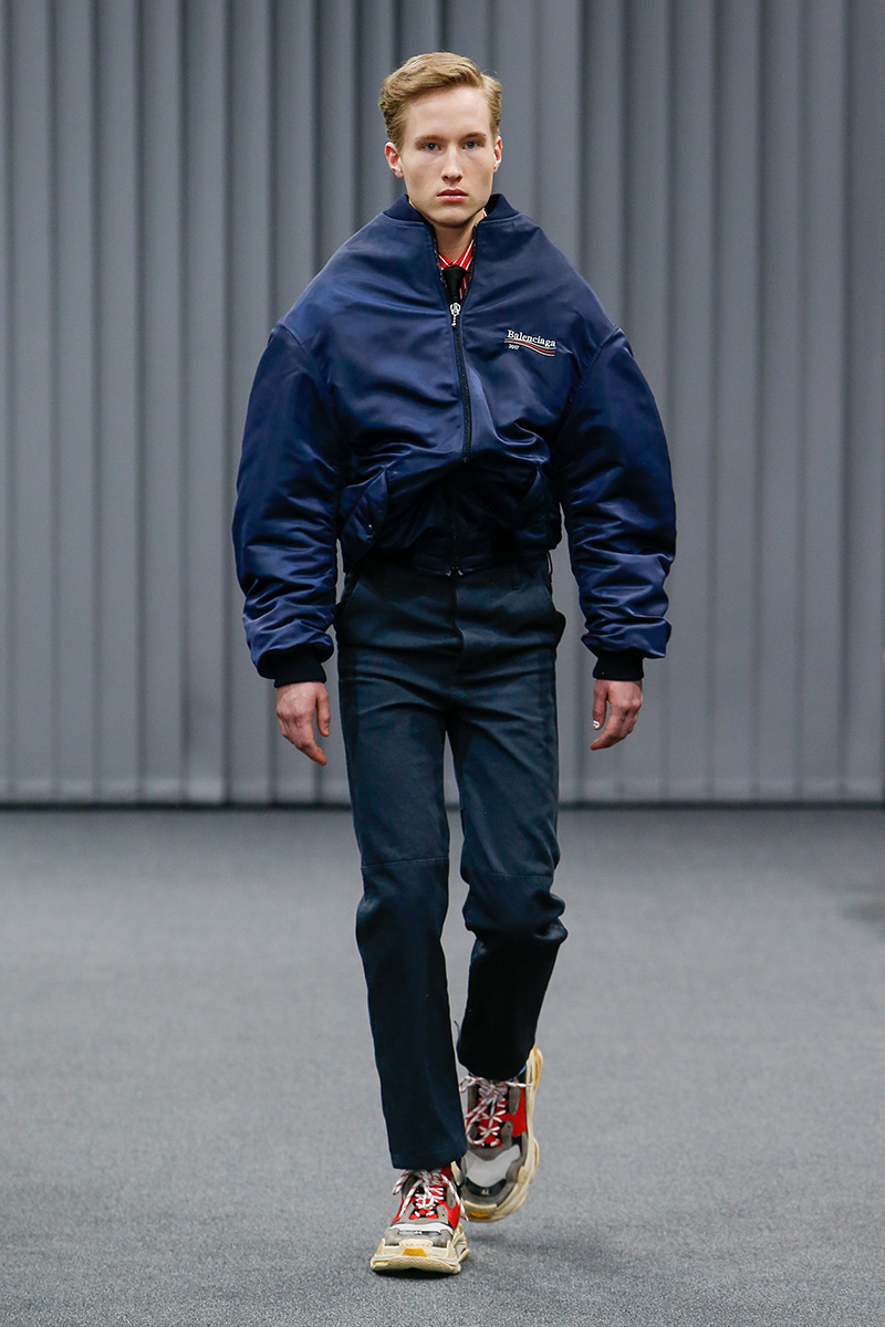 Balenciaga Paris Men's Fashion Week FW 17