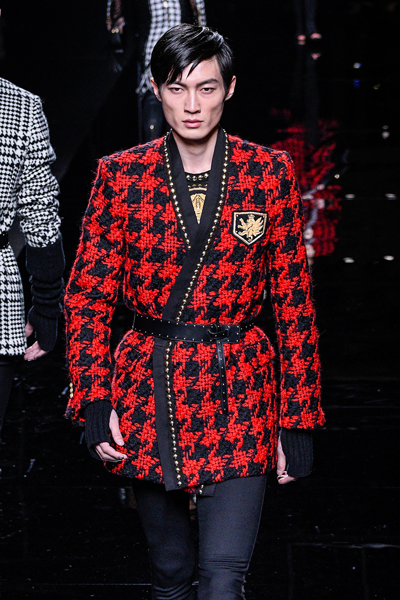 Balmain Fall 2017 Paris Men's Fashion Week 2