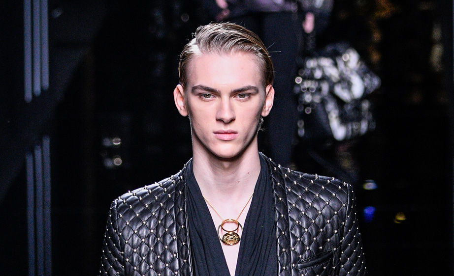 Balmain Fall 2017 Paris Men's Fashion Week