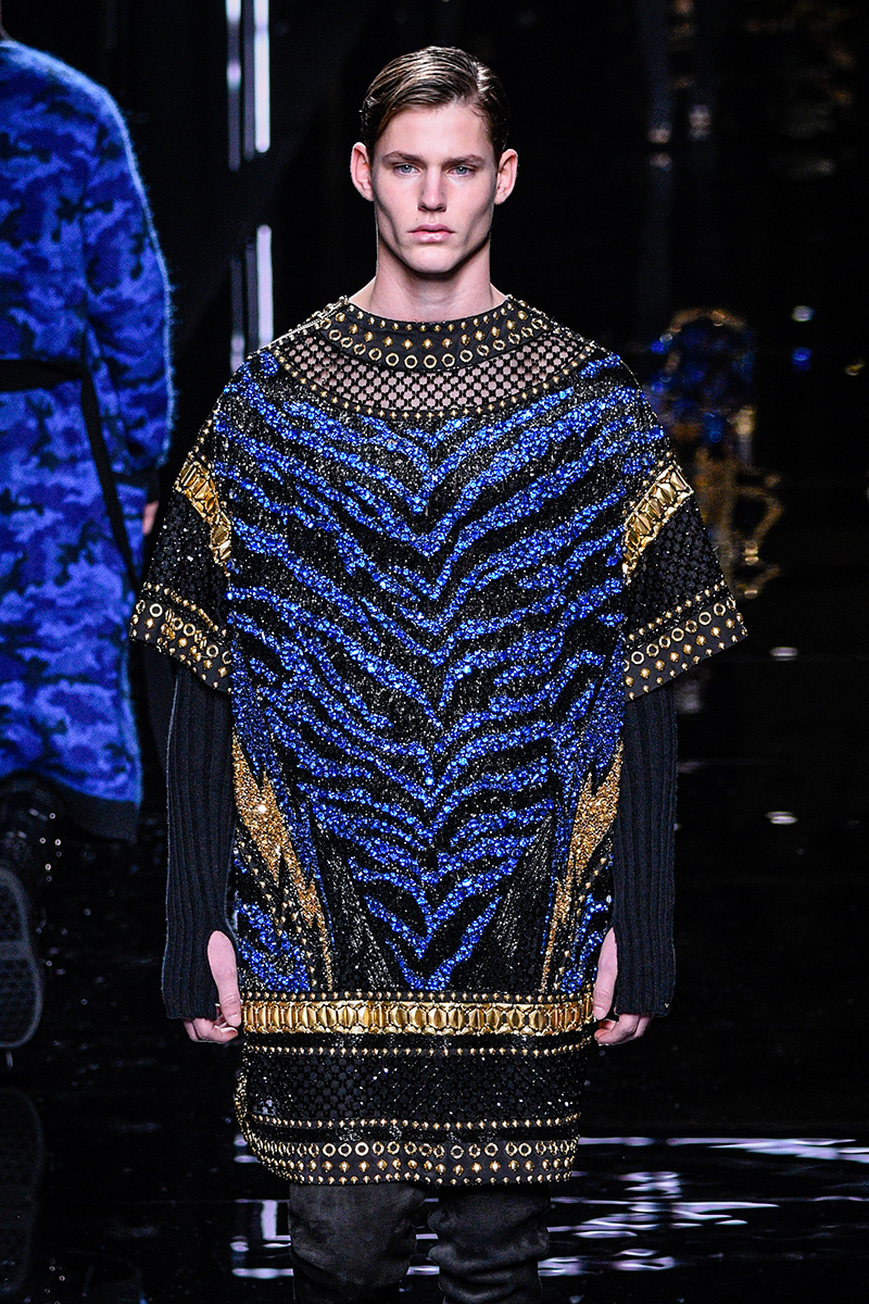 Balmain Fall 2017 Paris Men's Fashion Week 3