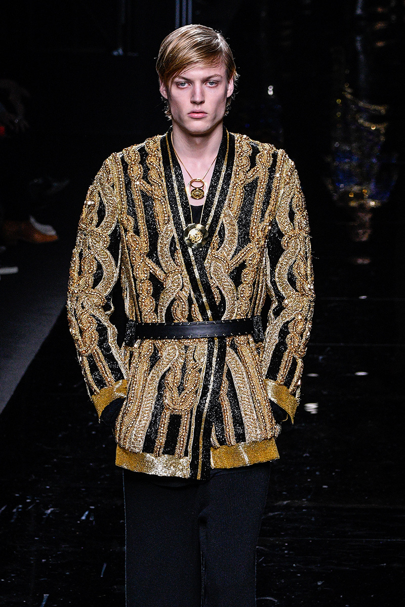 Balmain Fall 2017 Paris Men's Fashion Week 4
