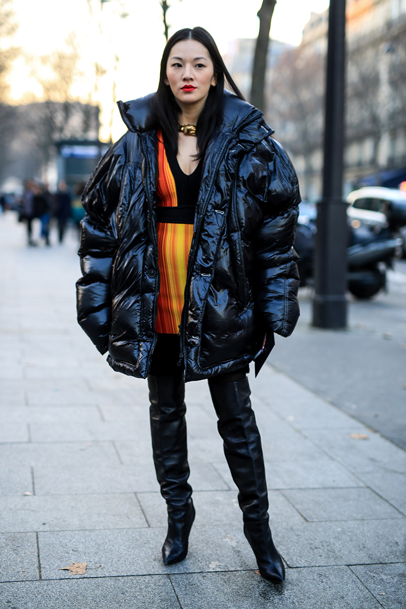 Paris Men's Fashion Week Street Style F 17