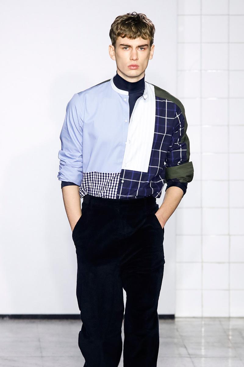 Cedric Charlier Fall 17 Milan Men's Fashion Week
