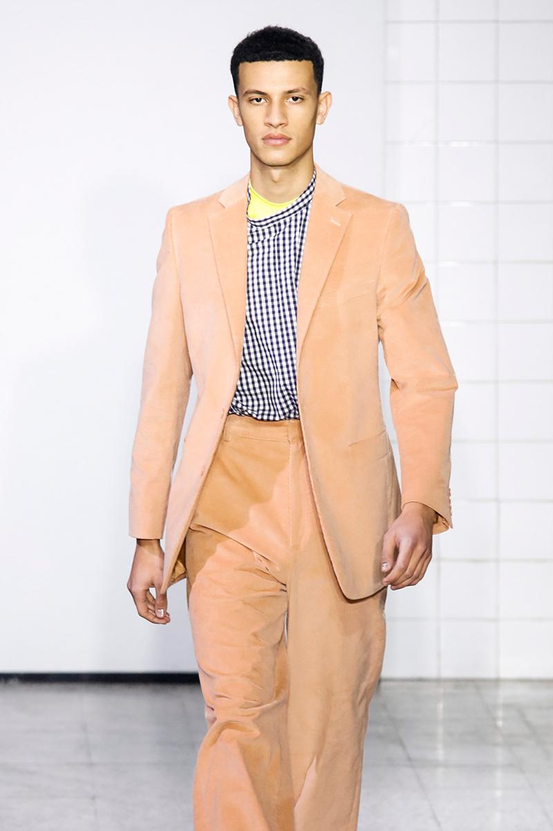 Cedric Charlier Milan Men's Fashion Week Fall 17 Show