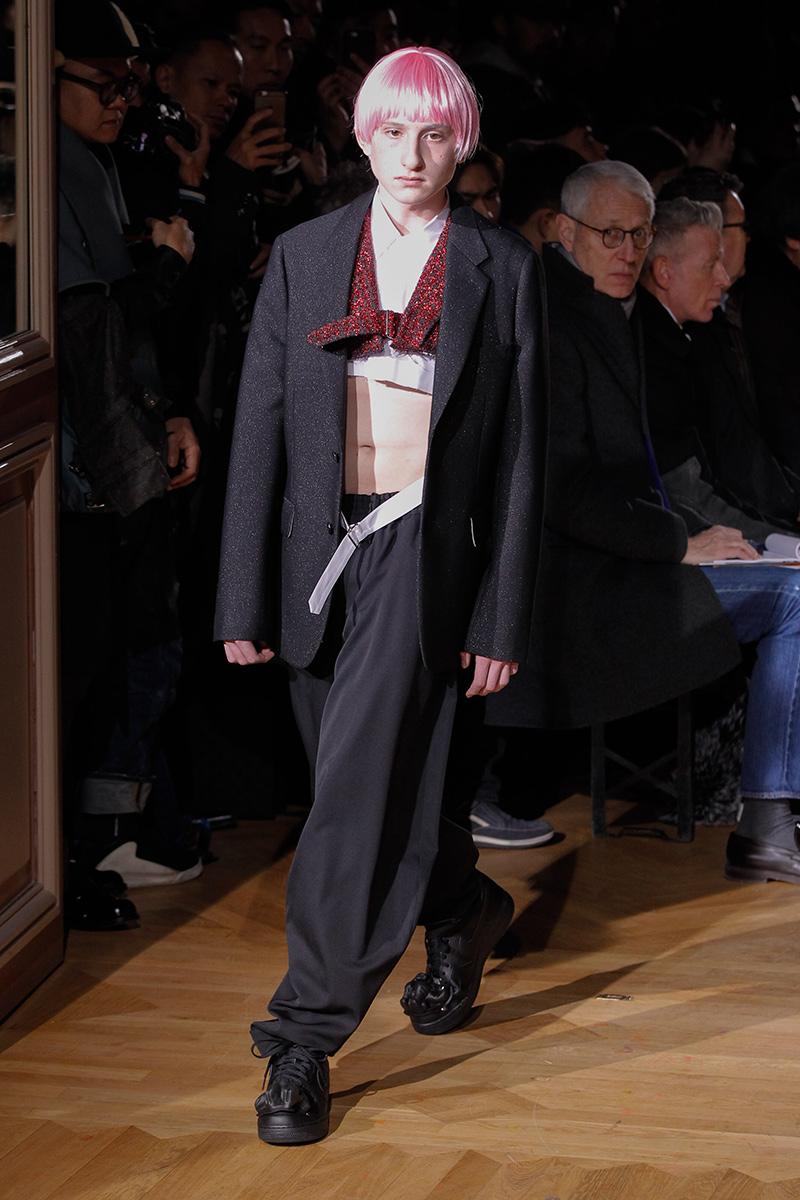 Comme des Garçons Fall 2017 Paris Men's Fashion Week 2