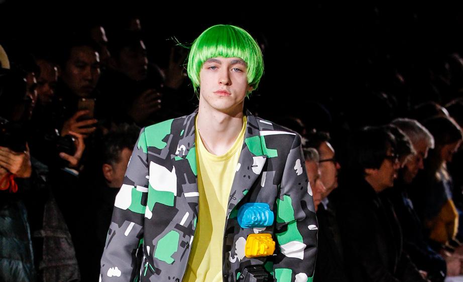 Comme des Garçons Homme Plus Fall 2017 Paris Men's Fashion Week