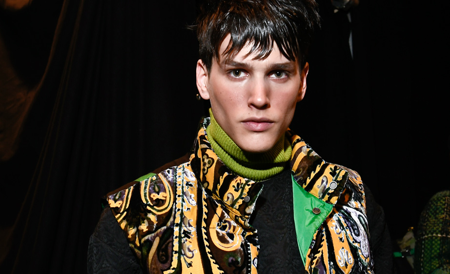 Etro Fall 2017 Men Beauty Milan Men's Fashion Week