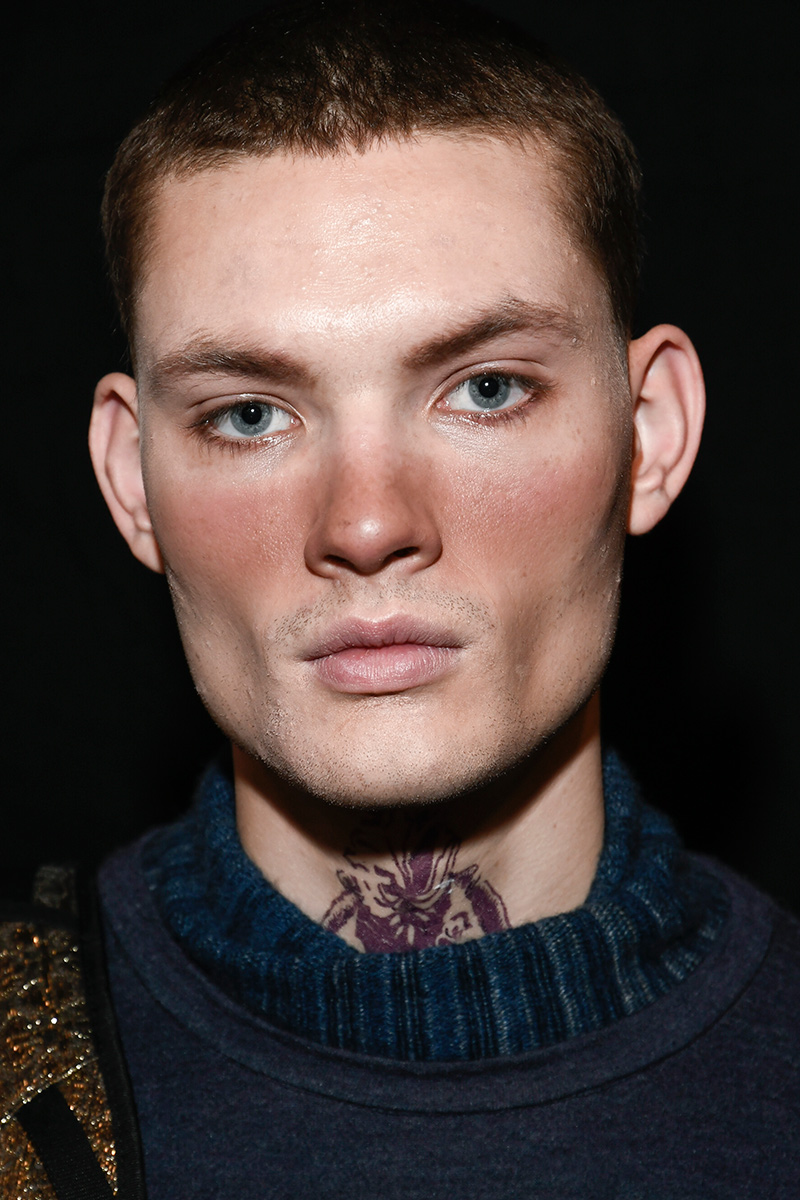 Etro Man Beauty FW 2017 Milan Men's Fashion Week
