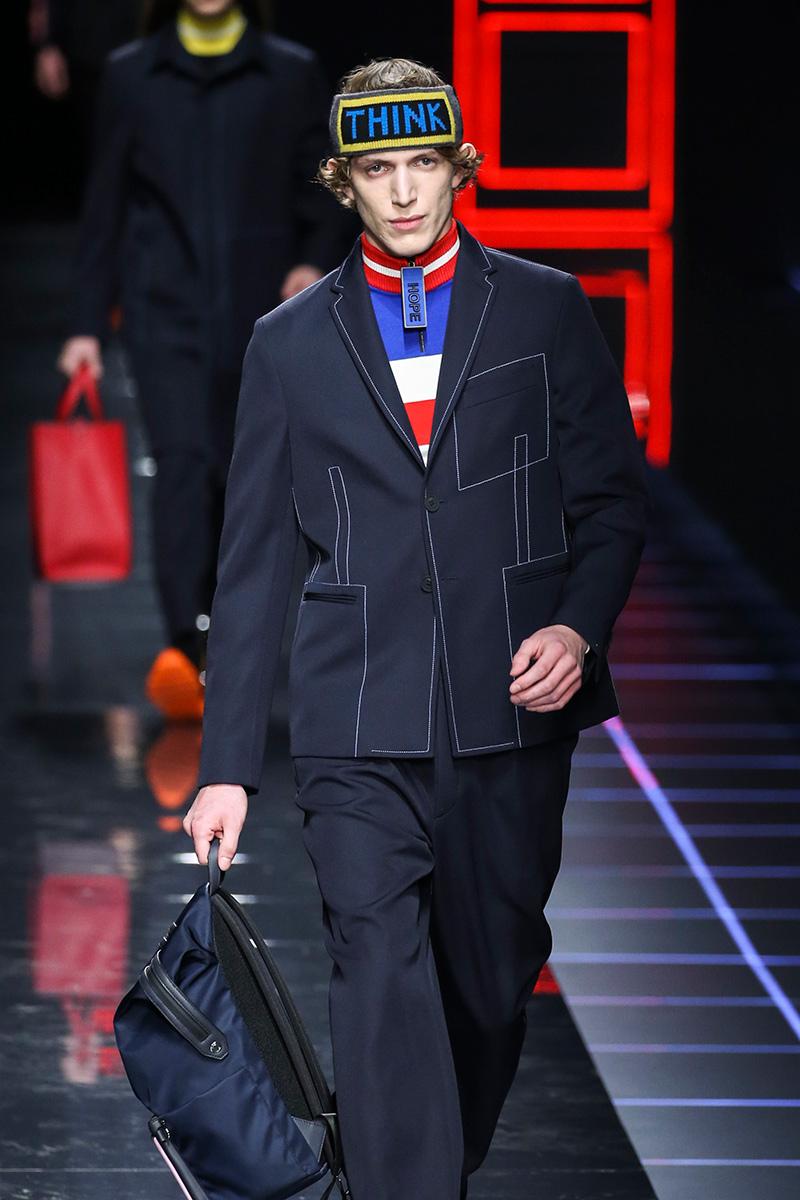Fendi Milan Men's Fashion Week Fall 17
