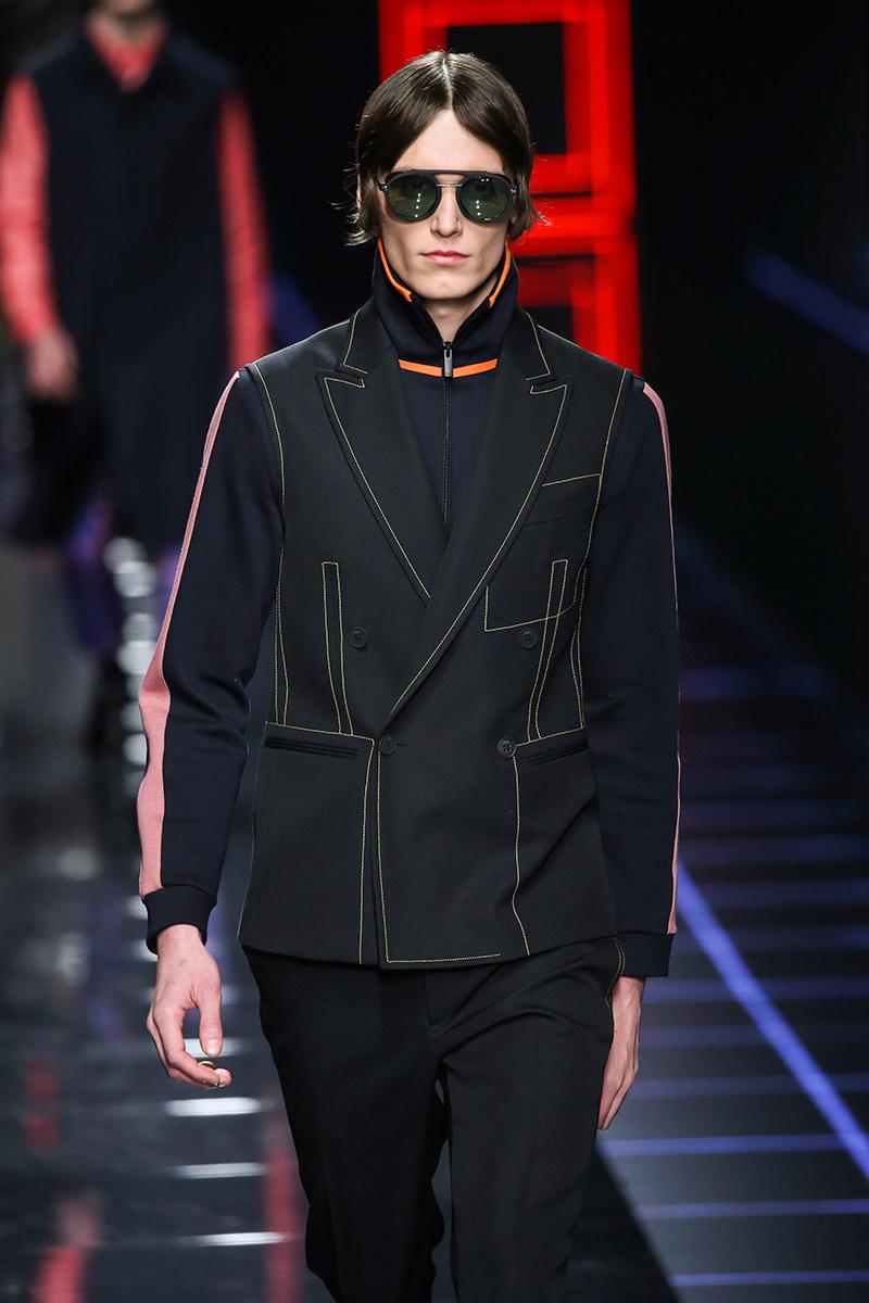 Fendi Milan Men's Fashion Week Fall - Winter 17