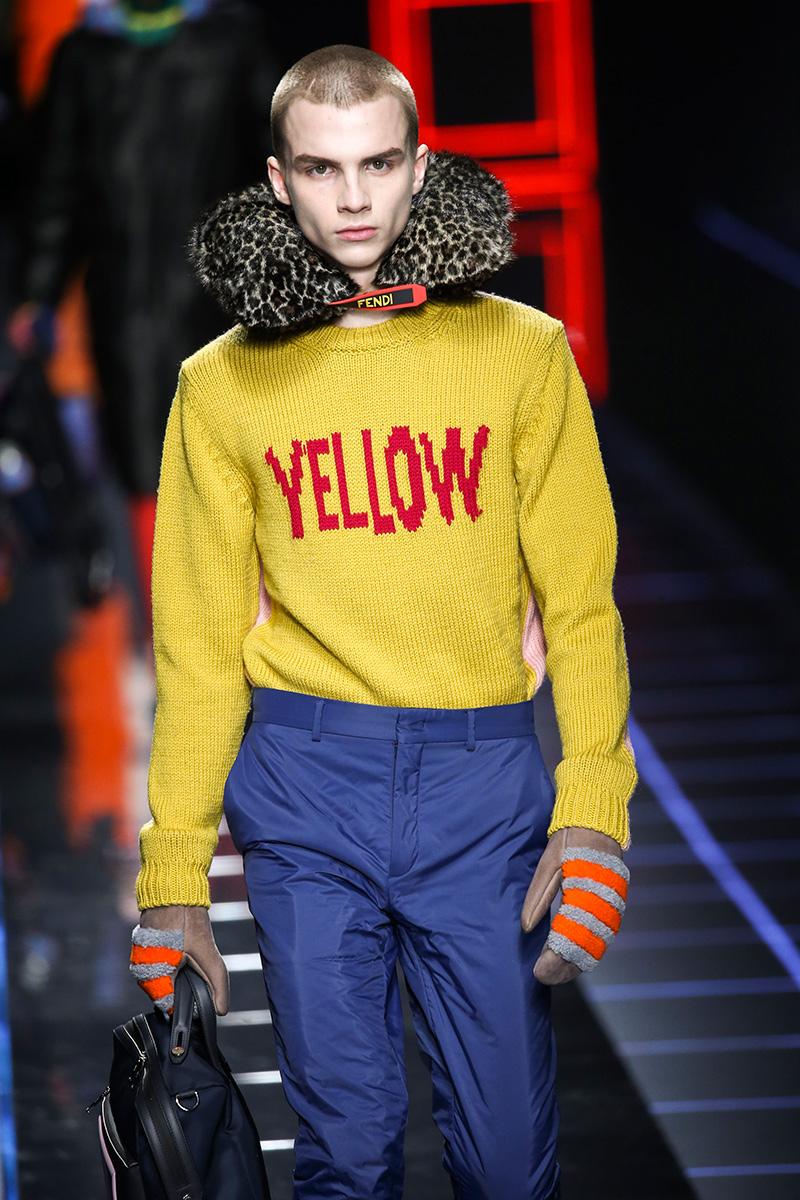 Fendi Milan Men's Fashion Week F17