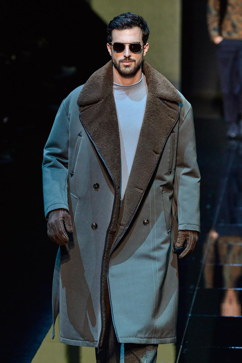 Giorgio Armani Milan Men's Fashion Week F 17