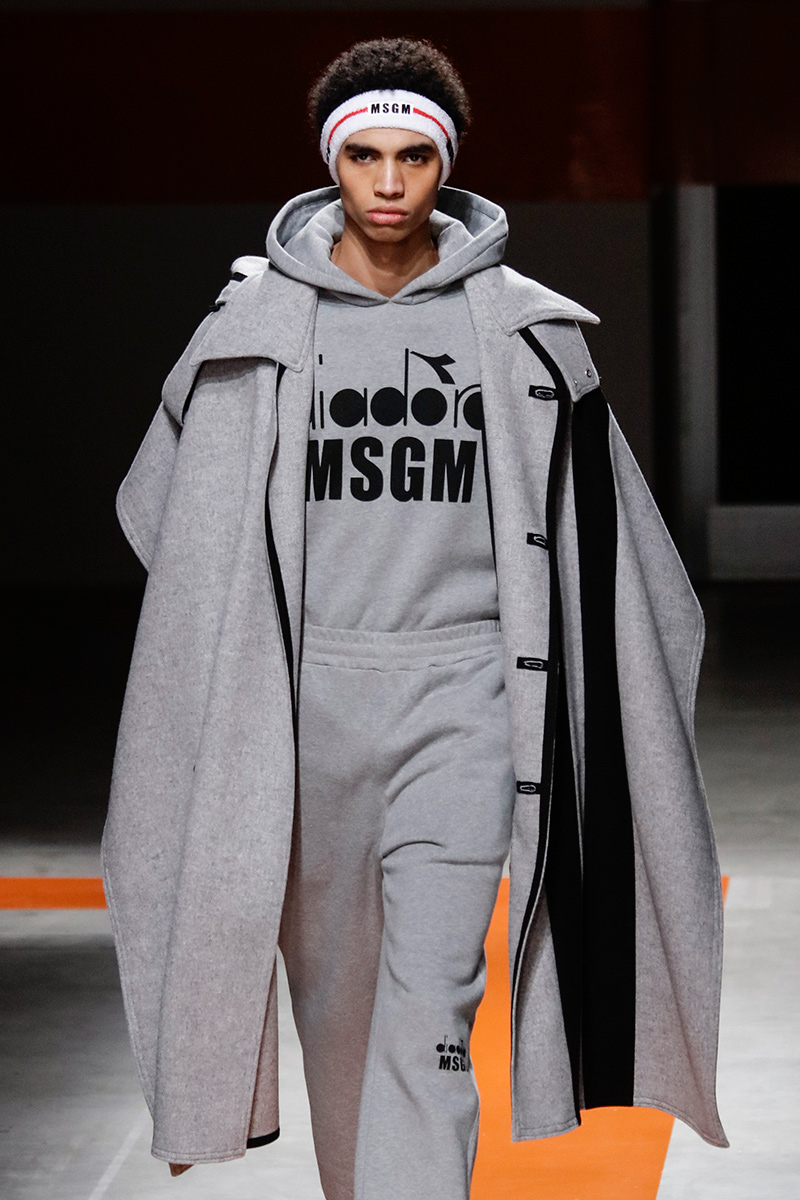 MSGM Milan Men's Fashion Week Fall 17 Show