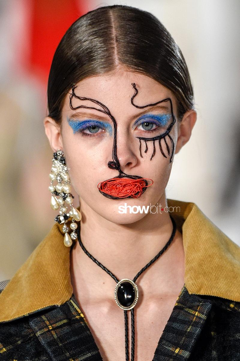 Maison Margiela SS 2017 Make up Haute Couture