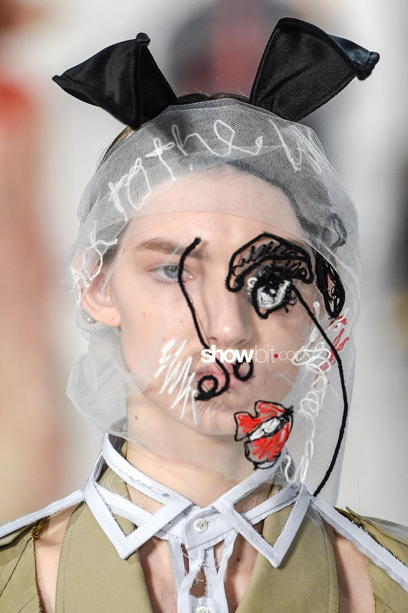 Maison Margiela SS17 Make up Haute Couture