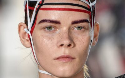 Maison Margiela Spring 2017 Beauty Haute Couture