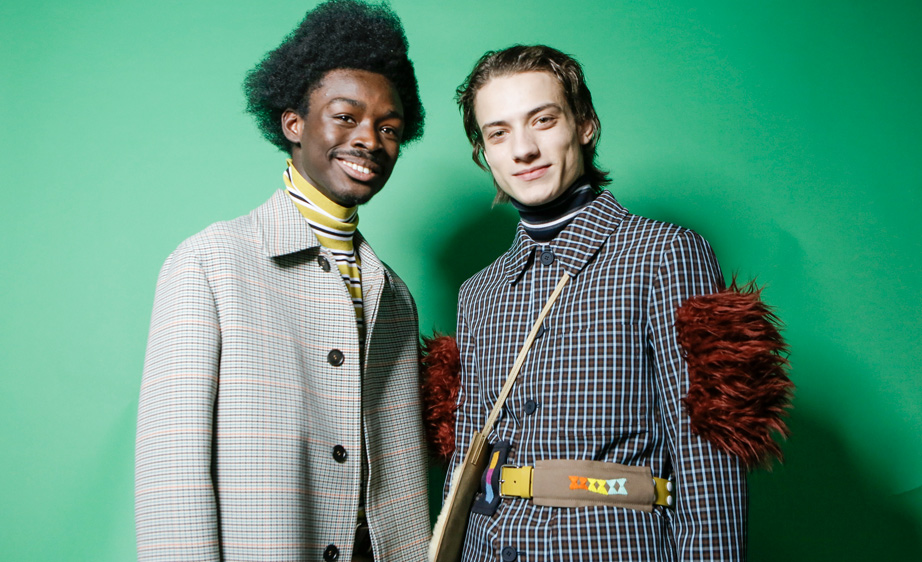 Marni Fall 2017 Backstage Milan Men's Fashion Week