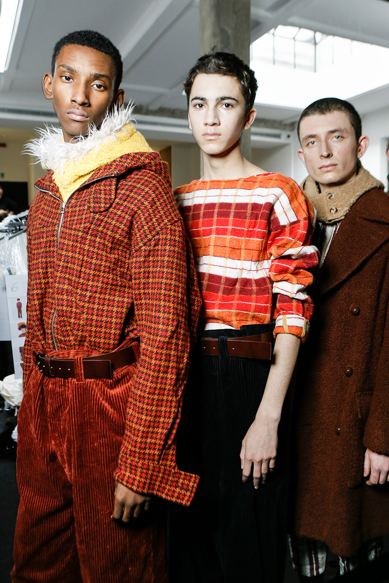 Marni Fall 17 Milan Men's Fashion Week Backstage 2