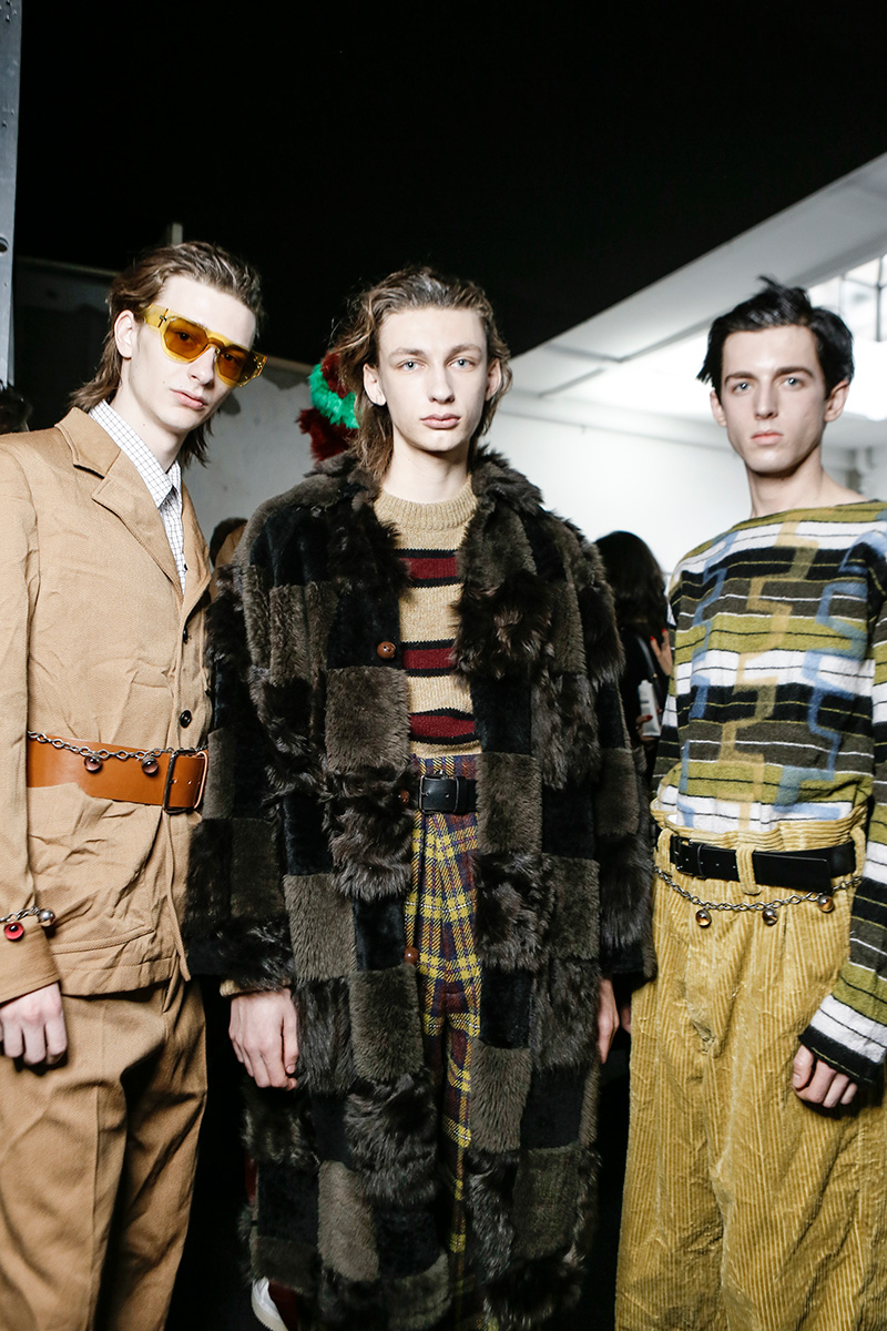 Marni Fall 17 Milan Men's Fashion Week Backstage 3