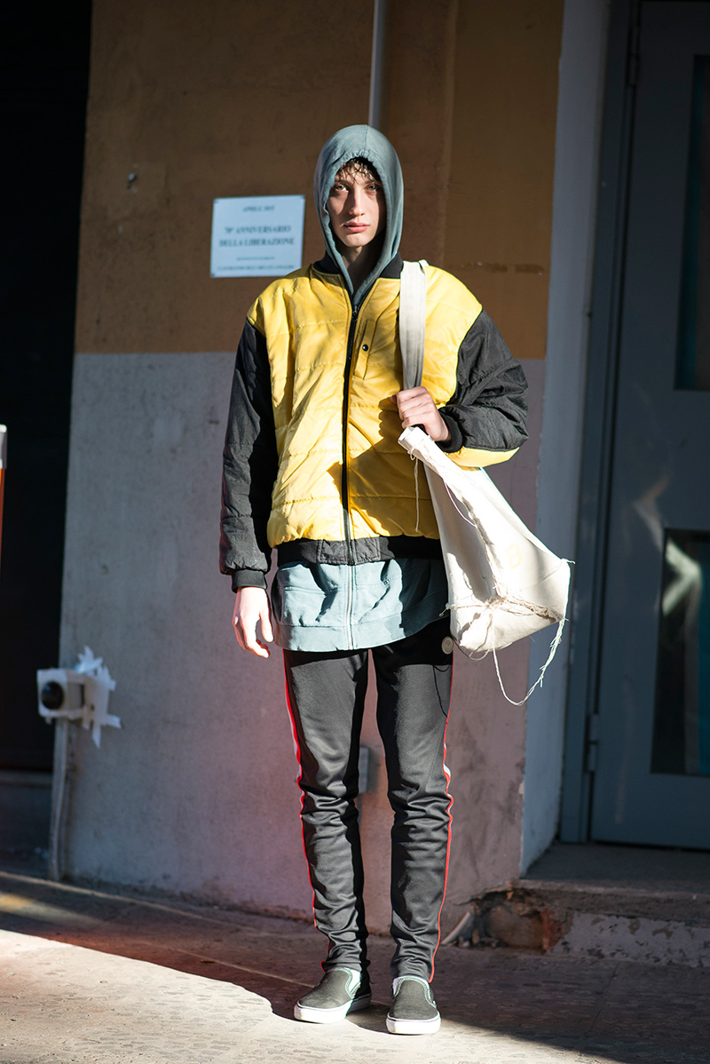 Milan Men's Fashion Week January Fall 2017 Street Style