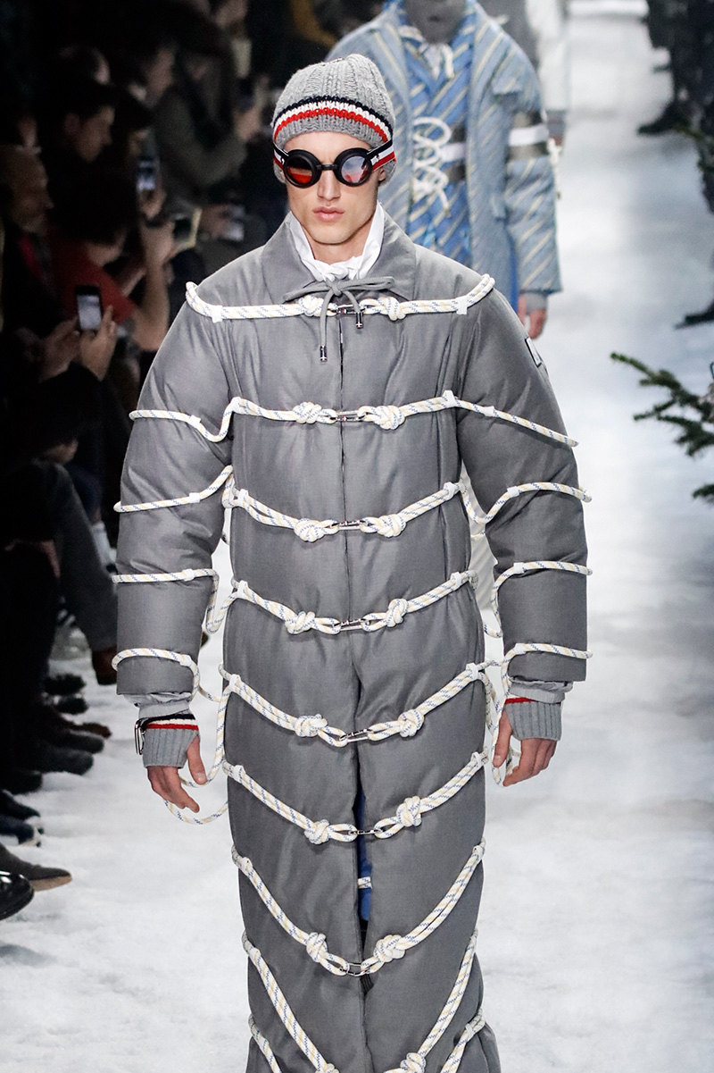 Moncler Gamme Bleu Fashion Show Milan Men's Fashion Week Fall 17