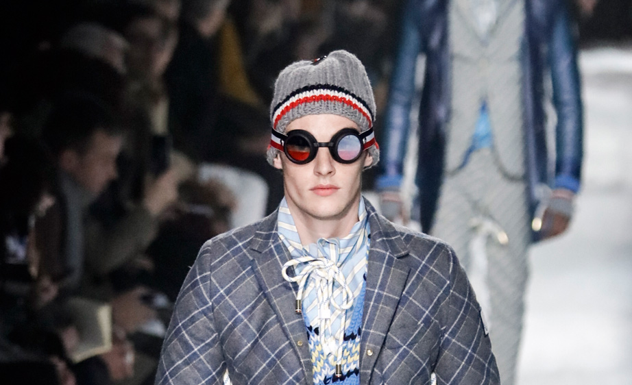 Moncler Gamme Bleu Fall 2017 Milan Men's Fashion Week