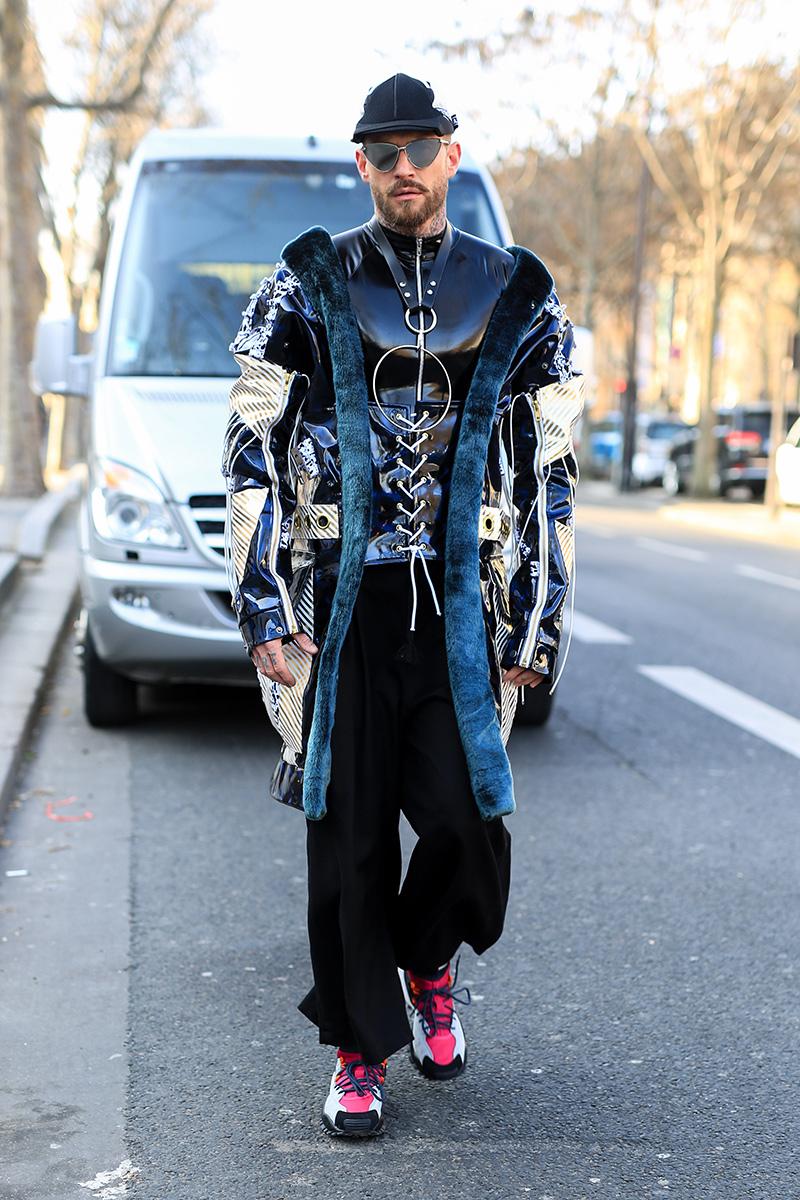 Paris Men's Fashion Week Street Style FW 17