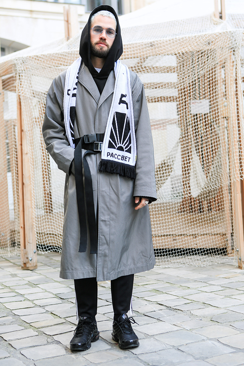Paris Men's Fashion Week Street Style FW 2017