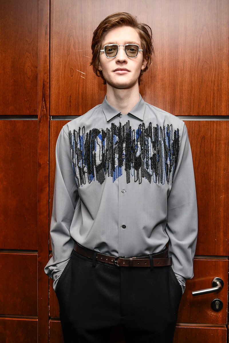 Salvatore Ferragamo Backstage Milan Men's Fashion Week FW 2017