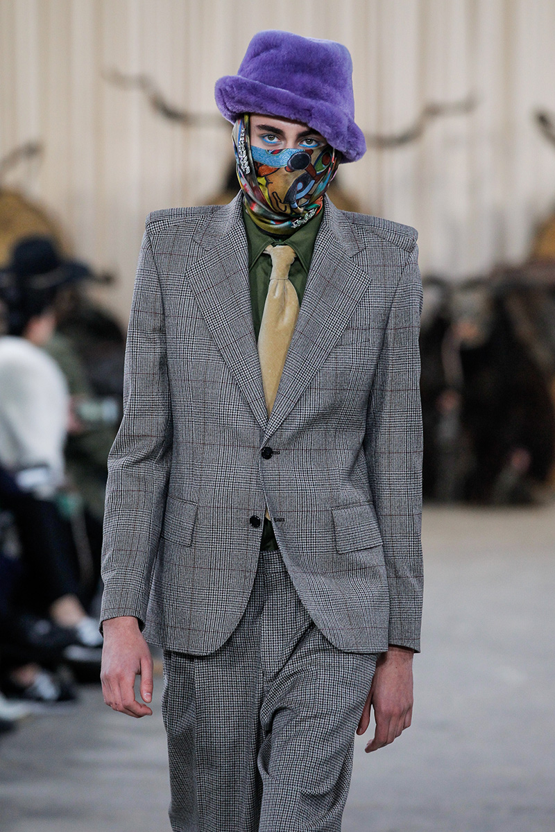 Walter Van Beirendonck Paris Men's Fashion Week F 2017