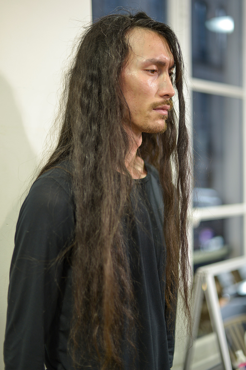 Yohji Yamamoto FW 17 Backstage Paris Men's Fashion Week
