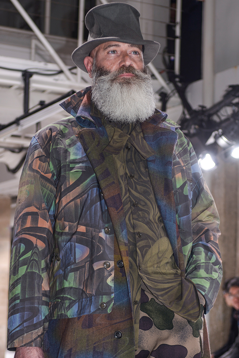 Yohji Yamamoto FW 17 Backstage Paris Men's Fashion Week 2