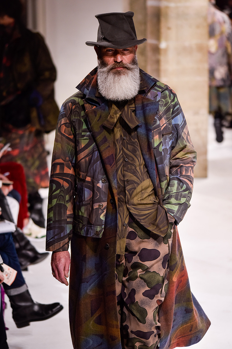 Yohji Yamamoto Paris Men's Fashion Week F 2017