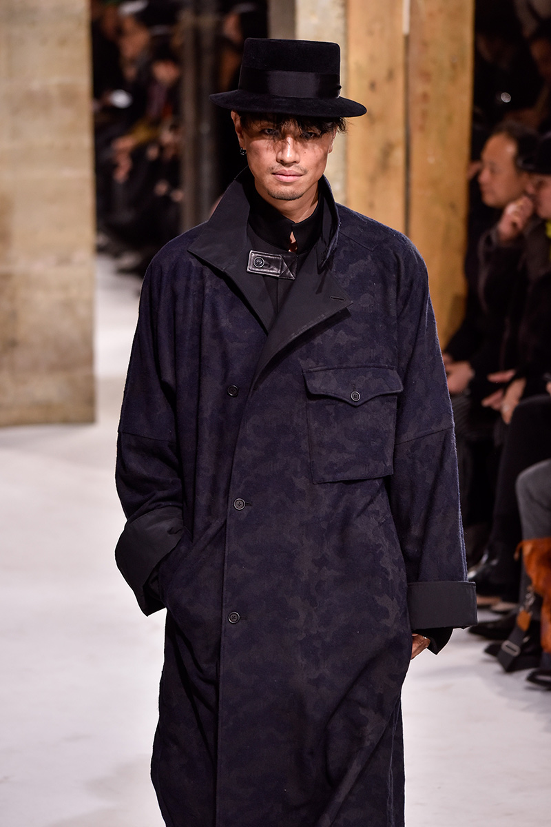 Yohji Yamamoto Paris Men's Fashion Week Fall 2017