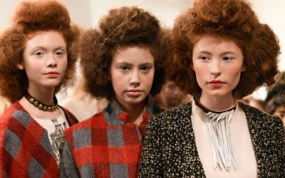 A Detacher Fall 2017 Beauty Backstage New York Fashion Week