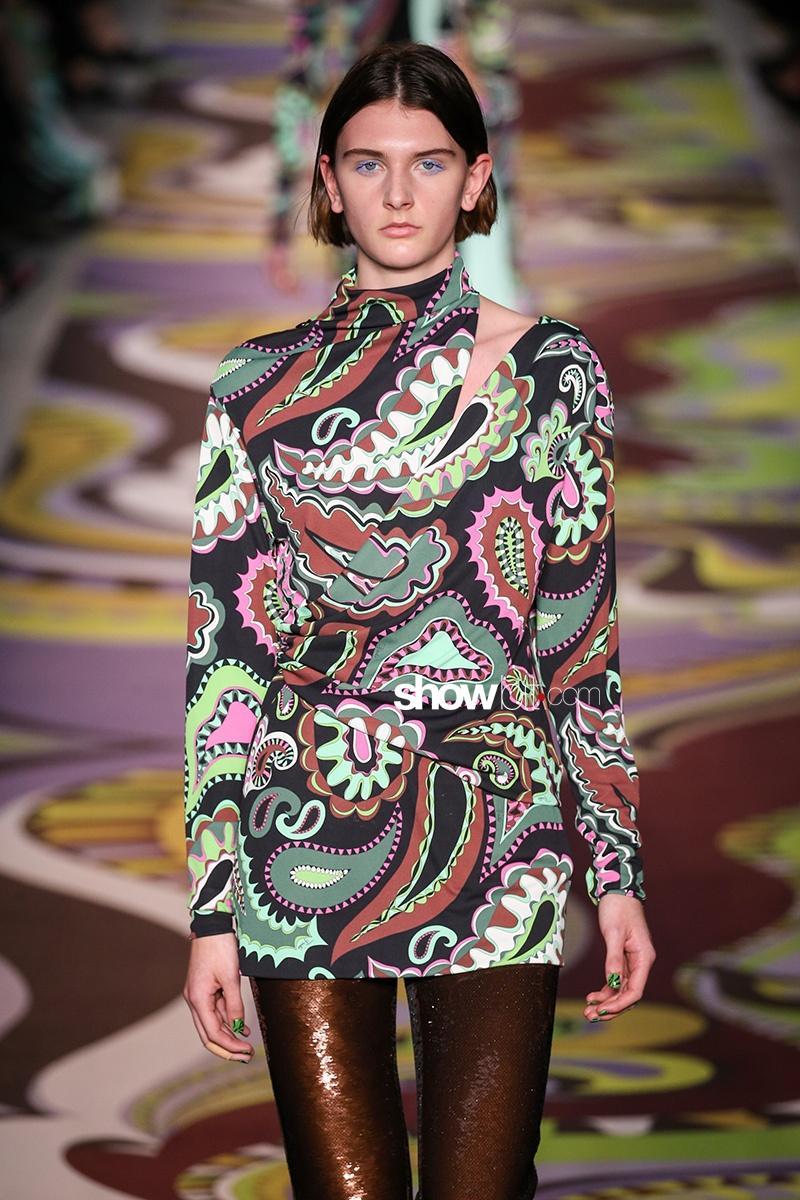 Emilio Pucci Fall 2017 Milan Fashion Week