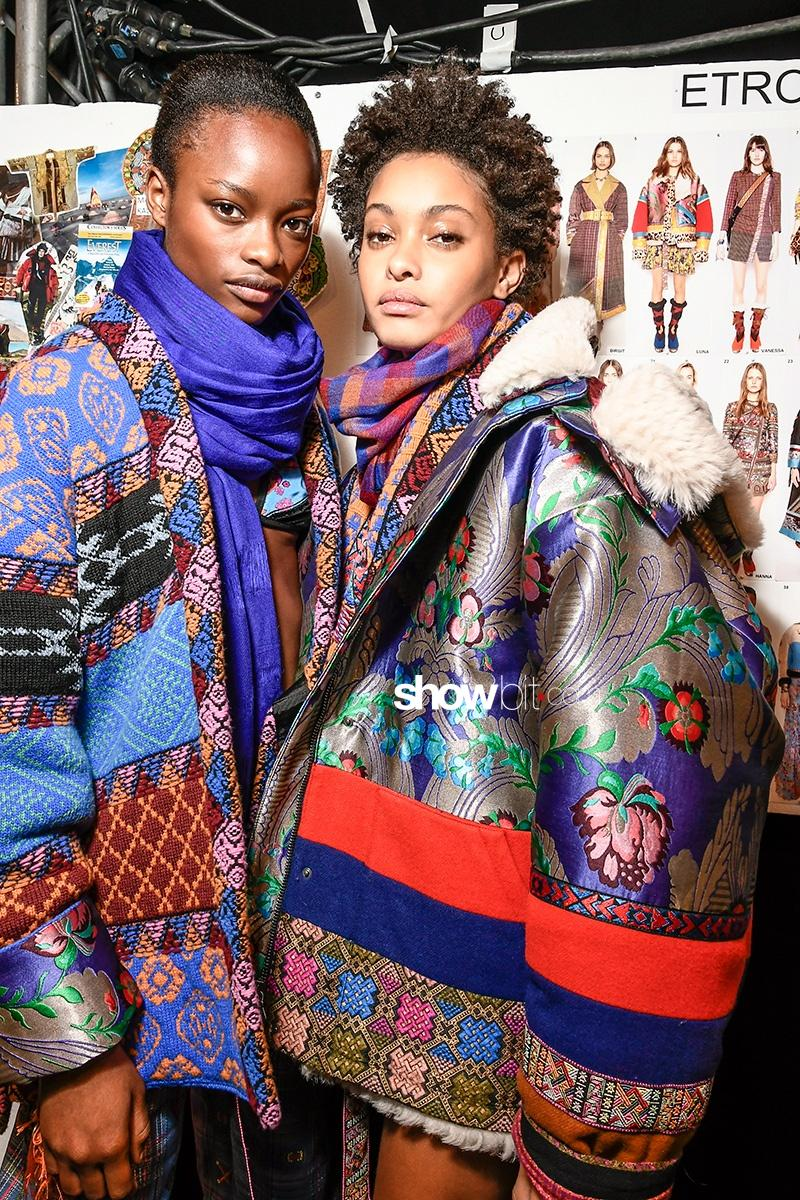 Etro Fall 2017 Milan Fashion Week Backstage