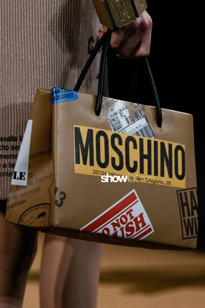 Moschino Fall 2017 Milano Bag 2