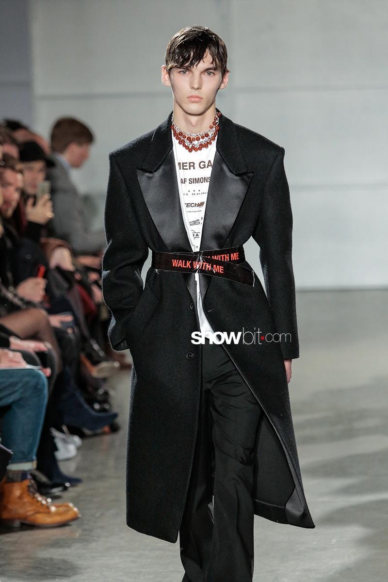 Raf Simons F 2017 New York Men's Fashion Week