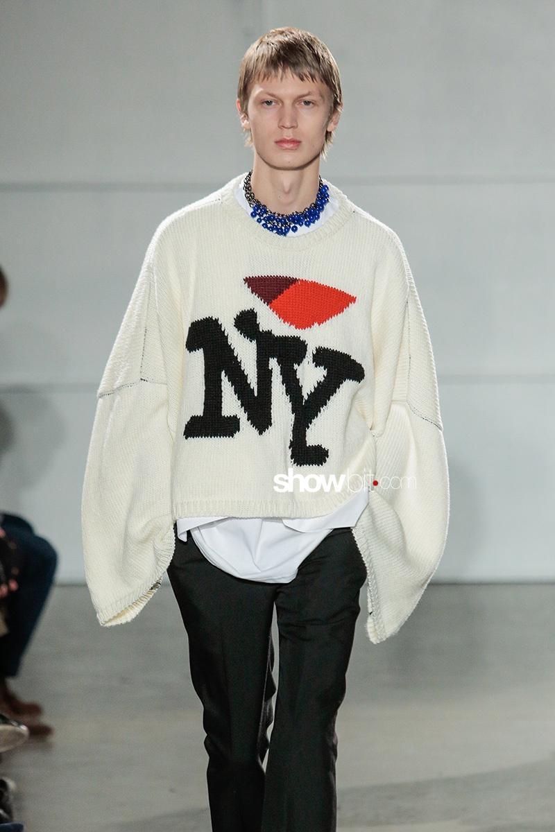 Raf Simons F 17 New York Men's Fashion Week
