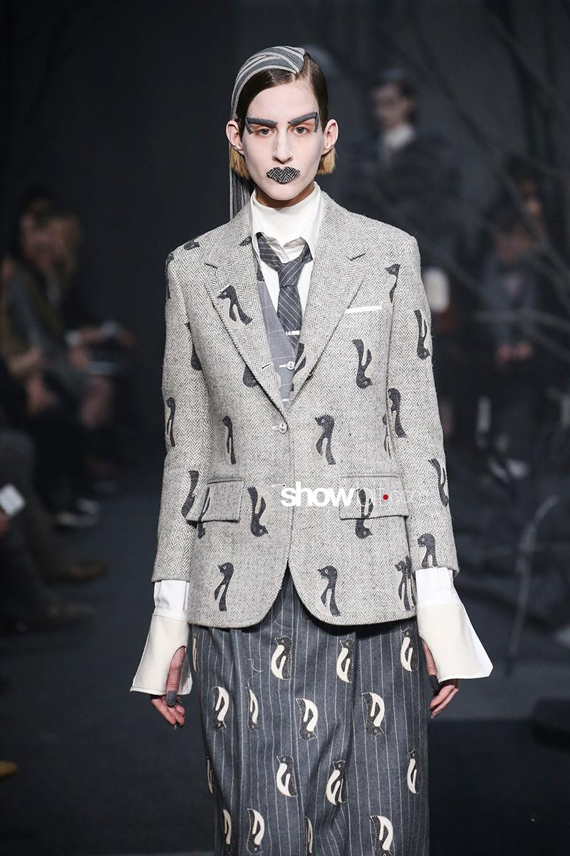 Thom Browne FW17 New York Fashion Week