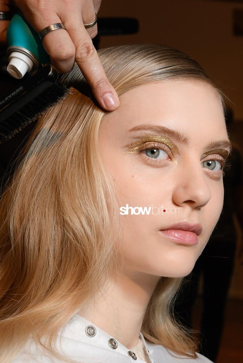 Alexis Mabille F17 Paris Fashion Week Make-up