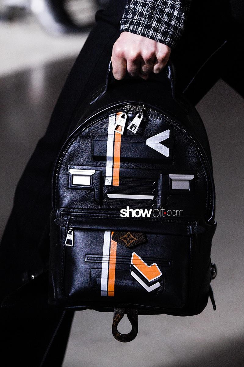 Louis Vuitton FW17 Backpack Paris Fashion Week