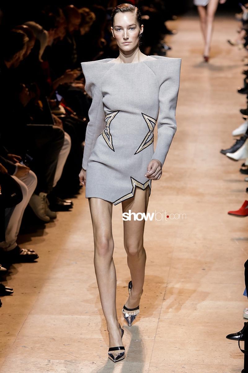 Mugler Fall 2017 Paris Fashion Week